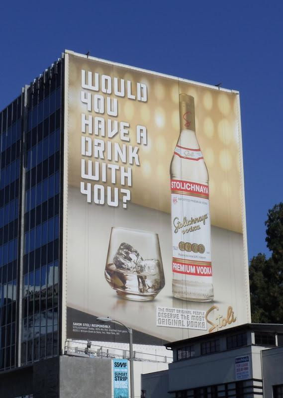 Stoli Vodka billboard