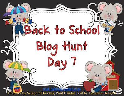 Back to School Blog Hunt Day 7 A Modern Teacher