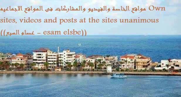 مواقع الخاصة والفيديو والمشاركات فى المواقع الاجماعيه (عصام السبع \ esam elsbe
