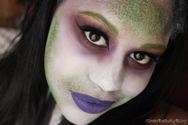 picture of beetlejuice makeup