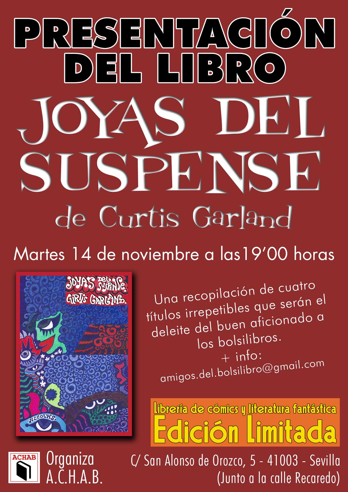PRESENTACIÓN DE JOYAS DEL SUSPENSE