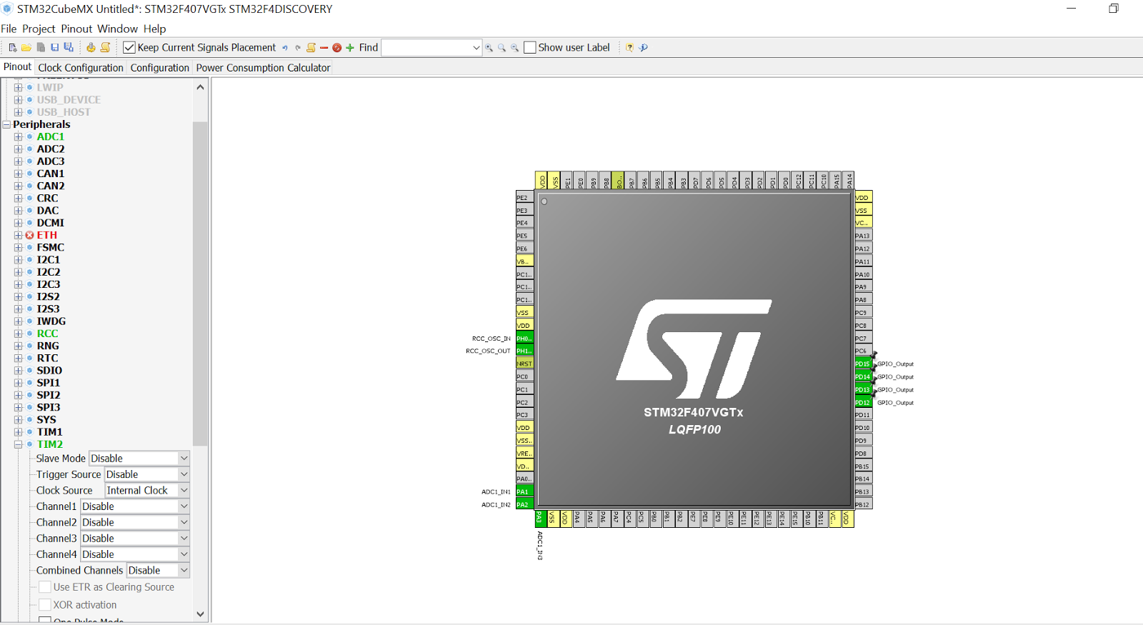 My STM32F4-Discovery: STM32F4-Discovery ADC with STM32CubeMX