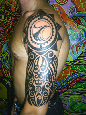 polynesian tattoos for men