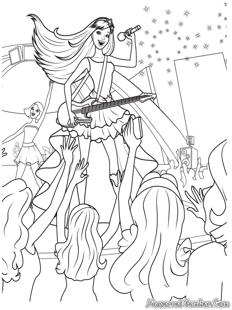 barbie 12 dancing princesses coloring pages coloring pages