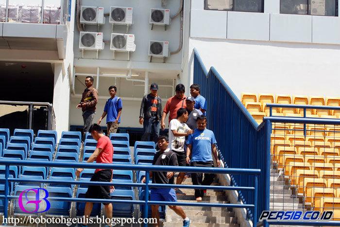Foto Kunjungan Skuad Persib Ke SUS GBLA