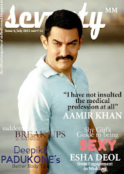 Seventy MM 'the official magazine of Sirf Bollywood' July 2012