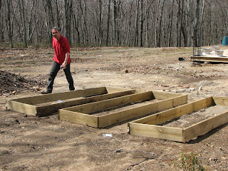Building Raised Beds To Reduce The Weeds In Your Garden