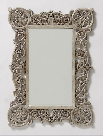 Mirror $ 128 Anthropologie Handcarved Wood 18 Dia Ravello Mirror $ 395