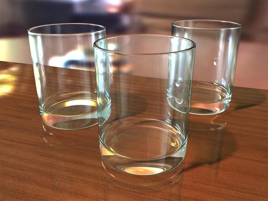 Marianageles objetos vidrio - Vasos grandes cristal ...