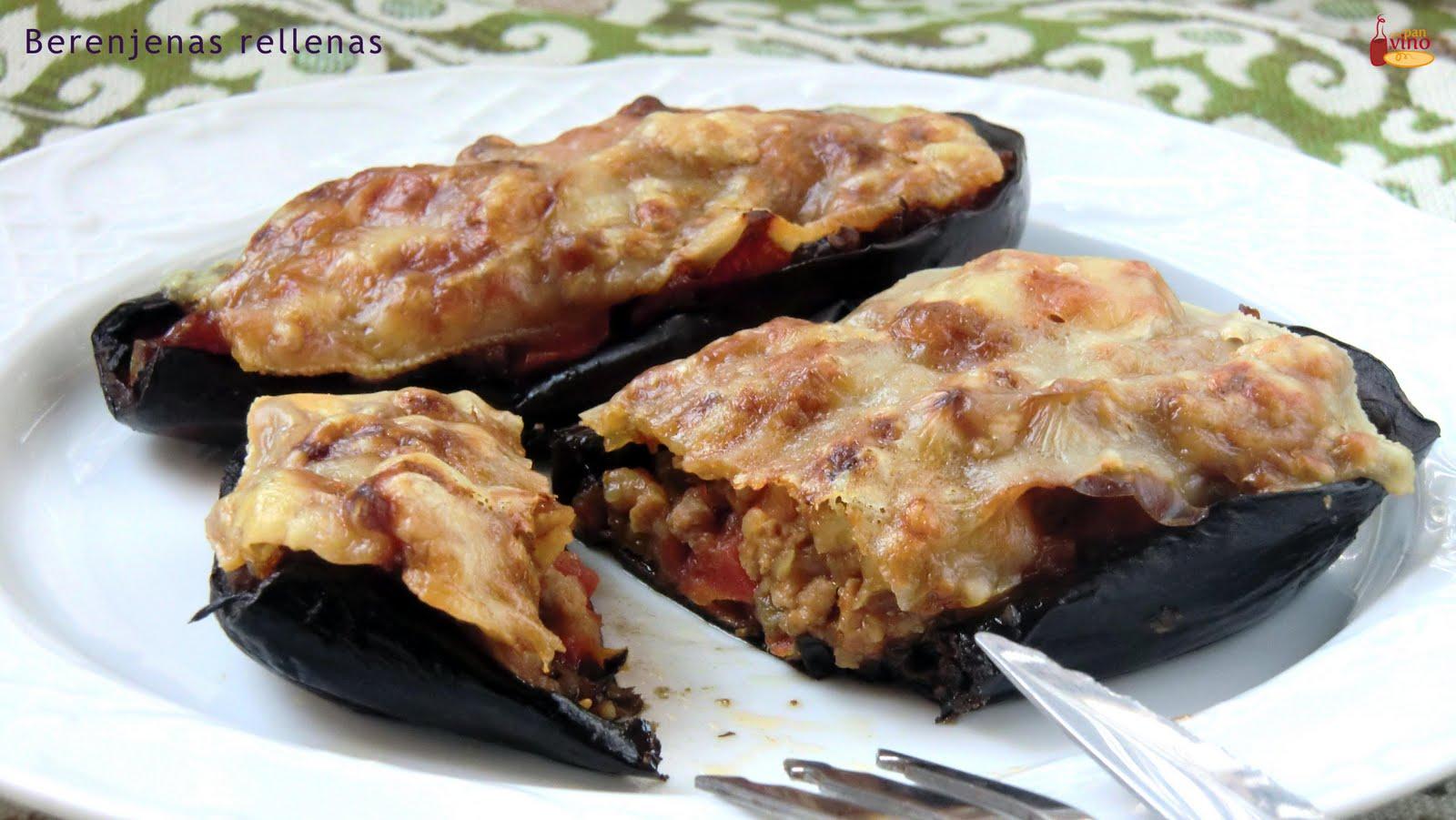 Berenjenas rellenas tvcocina recetas gourmet v deos for Cocina berenjenas rellenas