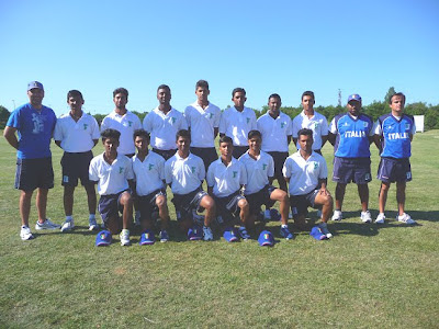 Nazionale Cricket Under 17 - 2012