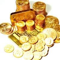 Giá Vàng giảm nhẹ ở chiều bán ra
