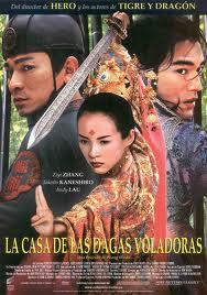 Ver La casa de las dagas voladoras (House of Flying Daggers) (2004) Online