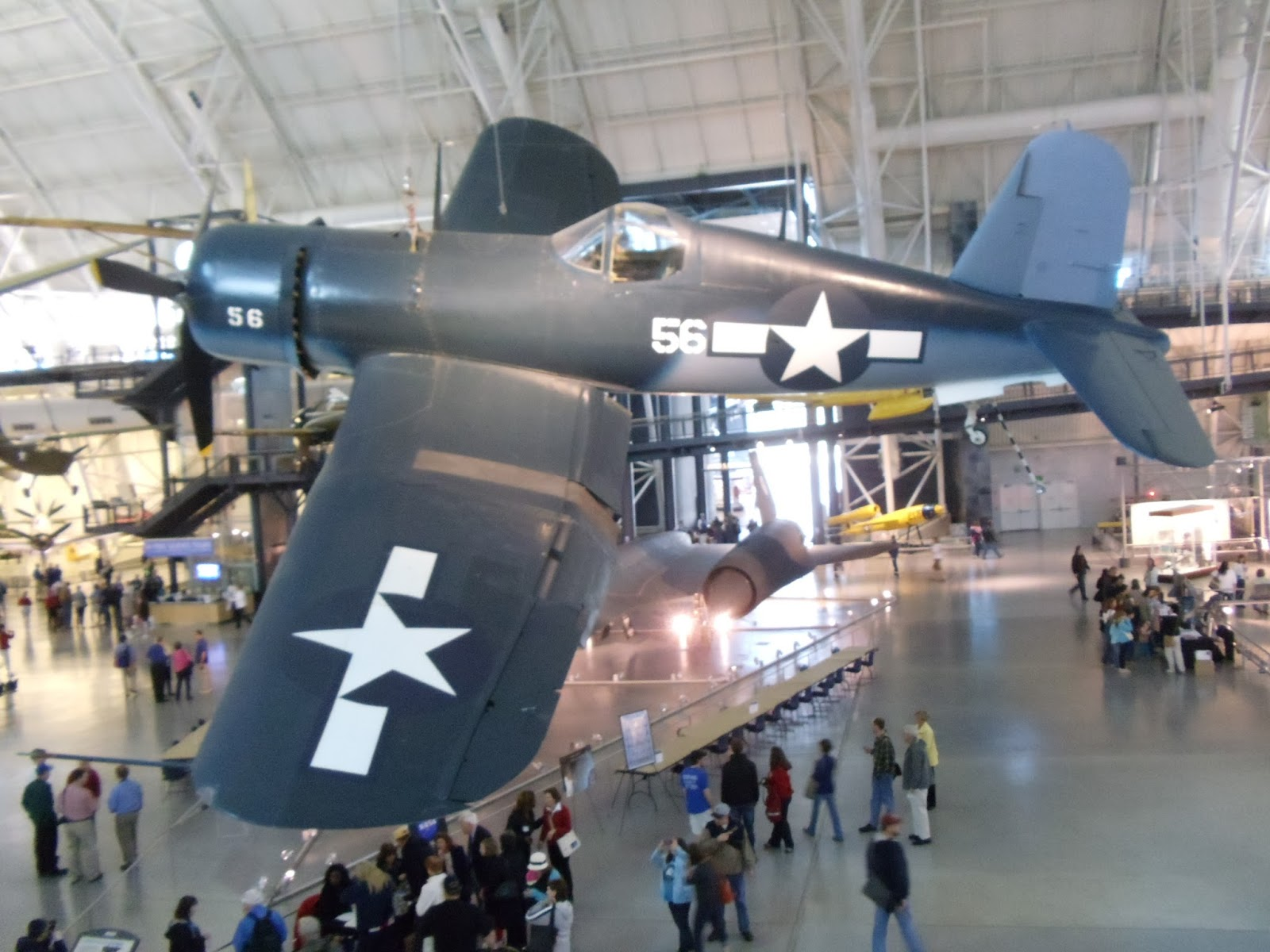 Smithsonian Air and Space Museum in Chantilly, Va.
