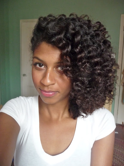 Curly Twist Out Natural Hair