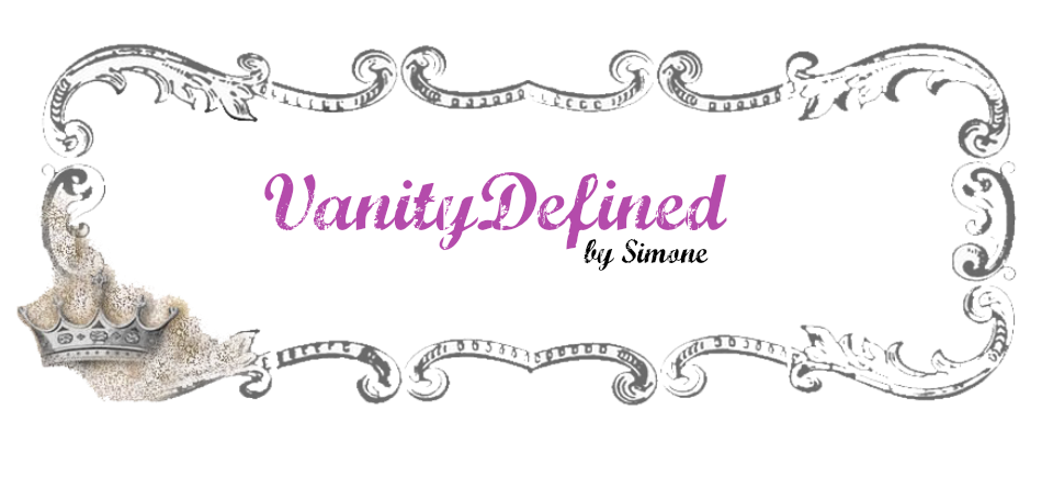 Vanity Defined by Simone