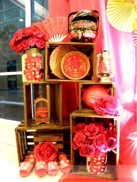 Chinese oriental wedding decoration at sjk c chung kwo for Decoration table orientale