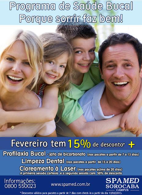 Programa de Saúde Bucal Porque sorrir faz bem!!!