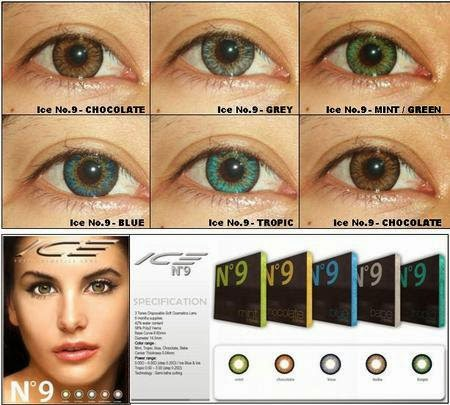 Review Softlens Ice n9