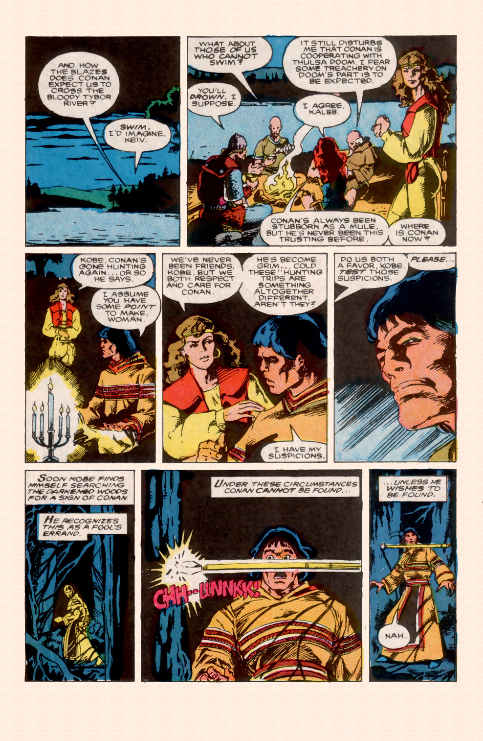 Conan the Barbarian (1970) Issue #200 #212 - English 22
