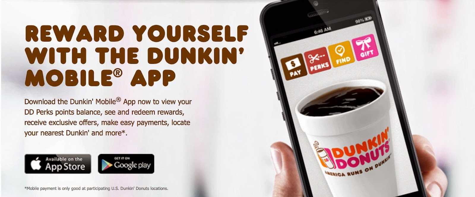 Past Dunkin Donuts Coupon Codes