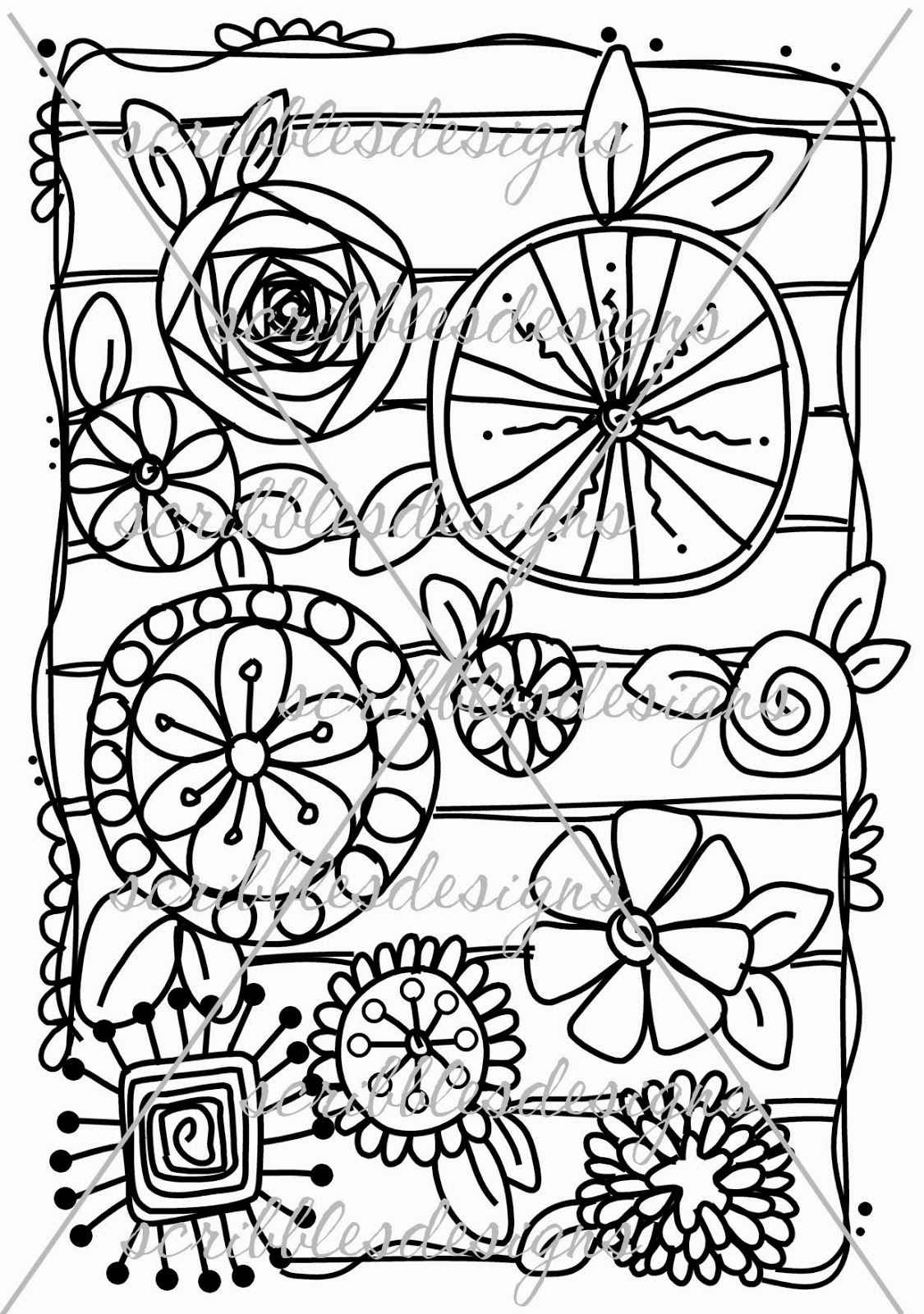 Free let s doodle coloring pages