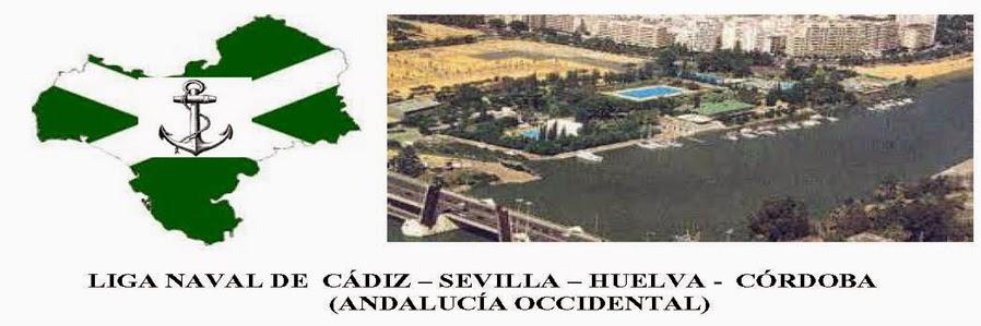 LIGA NAVAL DE CADIZ  - SEVILLA - HUELVA - CORDOBA