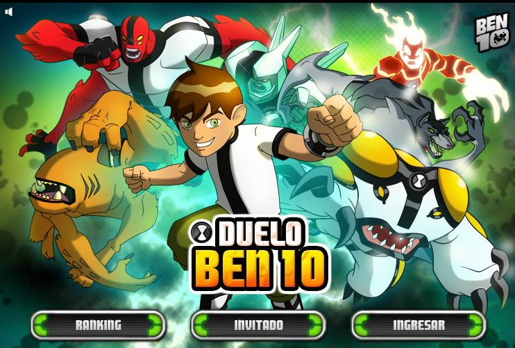 Los minijuegos gratis de Ben 10