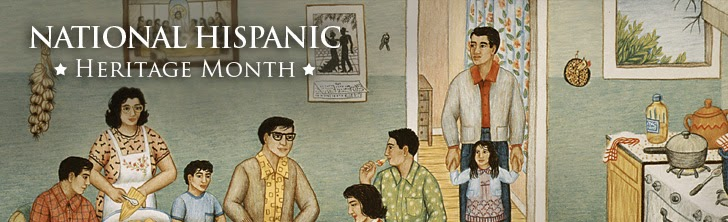 Hispanic Heritage Month logo