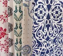 HAND PRINTED FABRICS