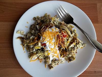 Southwestern Style Eggs