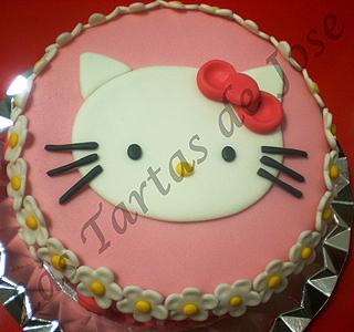 Tarta de Hello Kitty. Las Tartas de Jose. Castellón.