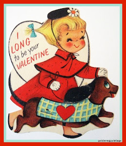 I Collect Vintage Valentines