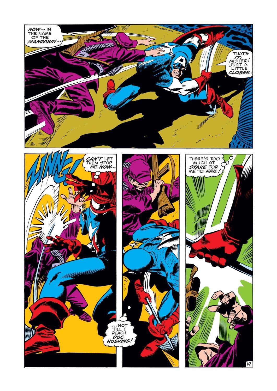 Captain America (1968) Issue #125 #39 - English 16