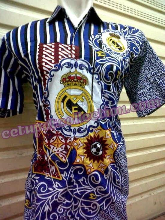 Foto Baju Batik Real Madrid
