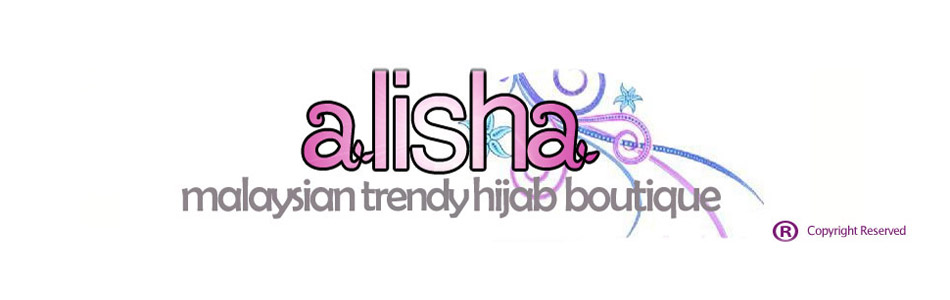 ALISHA Malaysian Trendy Hijab Boutique