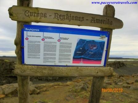 puente entre dos continentes península de reykjanes
