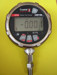 Digital Crystal test gauge #30 psi