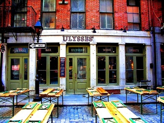 Bar Ulysses Folk House em Nova York