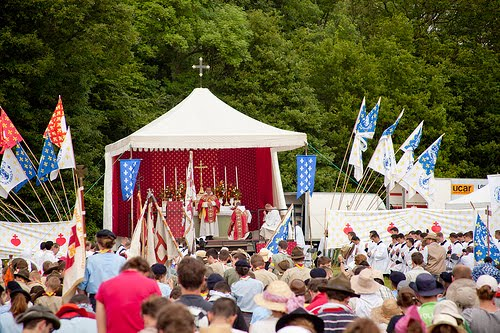 Chartres Youth Pilgrimage - Over 10,000 young Catholics attatched to the Latin Mass attend annualy.