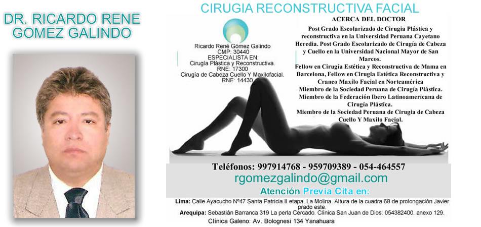 CIRUGIA RECONSTRUCTIVA FACIAL AREQUIPA : BLOG