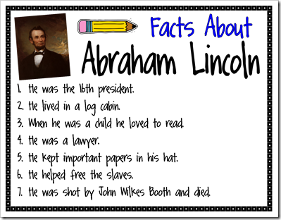 Mrs jackson 39 s class website blog presidents 39 day books for Fun facts about the presidents