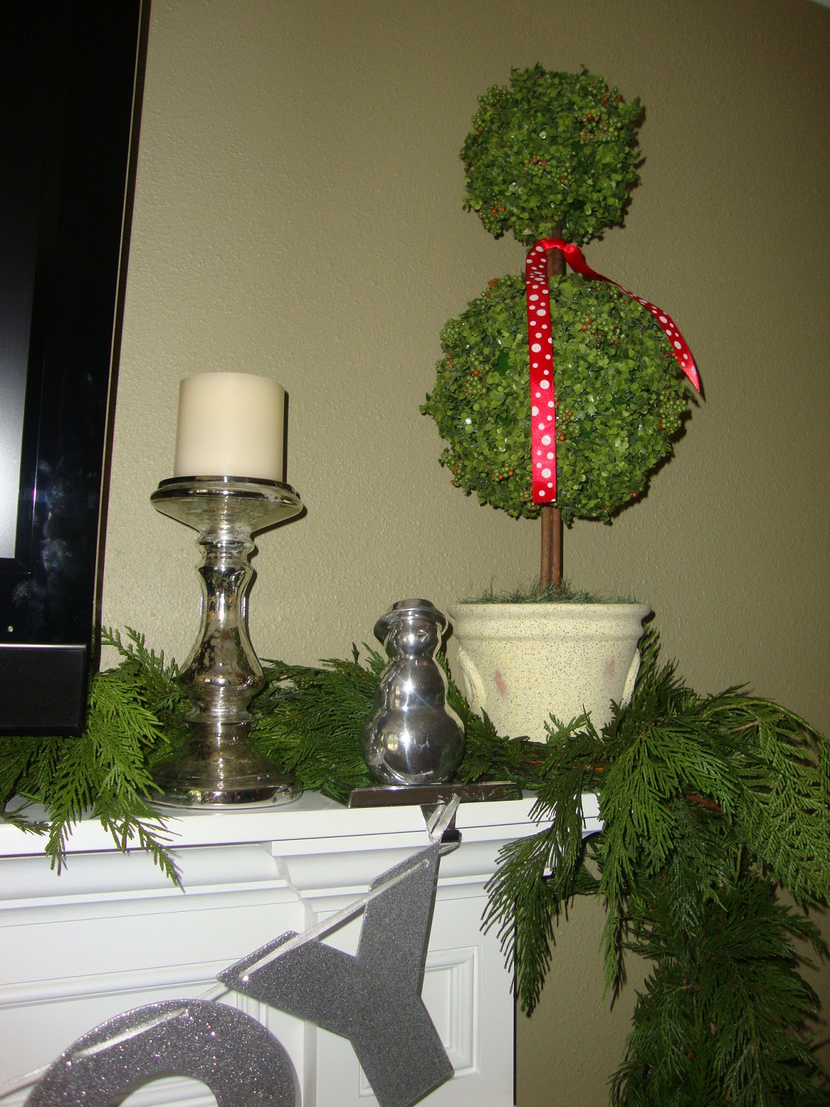 Steward of Design: My Christmas Mantel