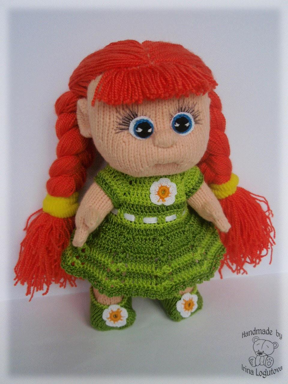 Вязаные куклы фото и схемы