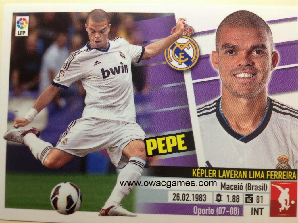 Liga ESTE 2013-14 Real Madid - 6A - Pepe