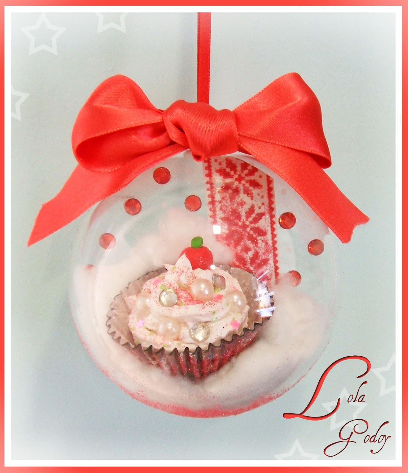 redecorate con lola godoy dulce navidad con bolas hechas