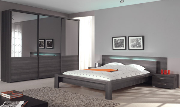 Art d co chambre a coucher casanaute for Photo chambre design