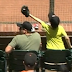 Young Giants fan snags foul ball while saving his dad (Video)