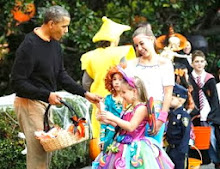 The Obamas Celebrate Halloween