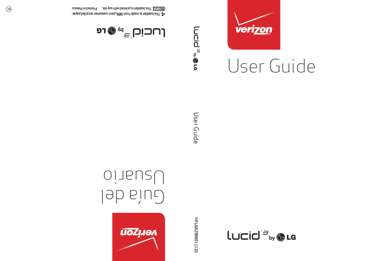 LG Lucid 3 VS876 Manual
